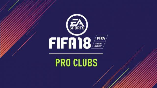 pro club fifa18